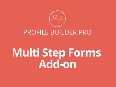 Profile Builder Pro Multistep Forms Addon