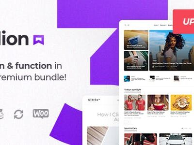 Gillion Blog Magazine & Shop Theme