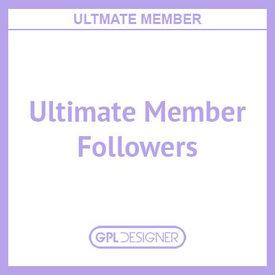 Ultimate Member – Followers