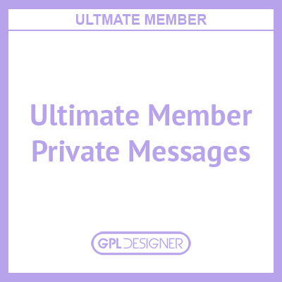 Ultimate Member – Private Messages