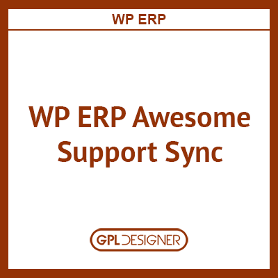 WP ERP Awesome Support Sync