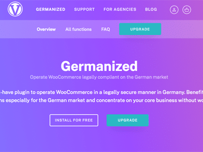 Germanized Pro Wordpress Plugin