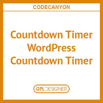 Countdown Timer – WordPress Countdown Timer Plugin