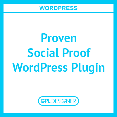 Proven Social Proof WordPress Plugin