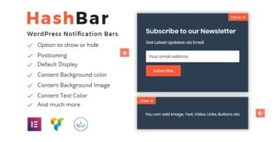 HashBar Pro Wordpress Plugin