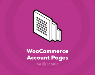Iconic WooCommerce Account Pages