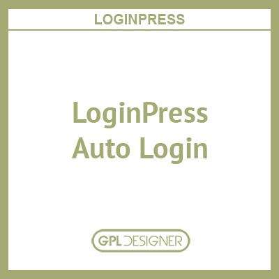 LoginPress – Auto Login