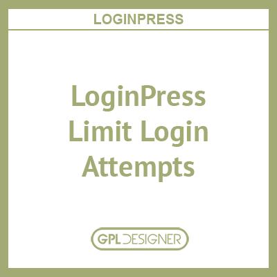 LoginPress – Limit Login Attempts