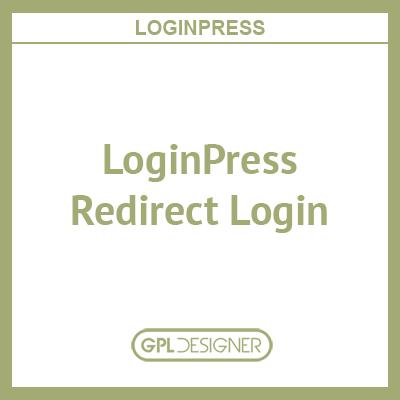 LoginPress – Redirect Login