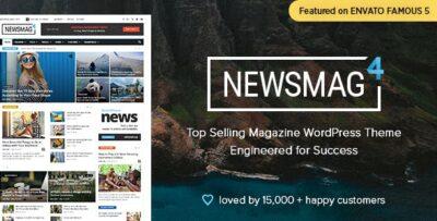 Newsmag Newspaper & Magazine WordPress Theme