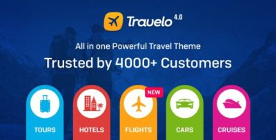 Travelo ­ Travel Tour Booking Theme