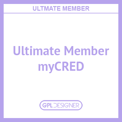 Ultimate Member – MyCRED