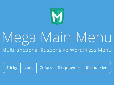 Mega Main Menu For Wordpress