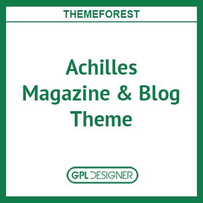 Achilles – Multipurpose Magazine & Blog Theme