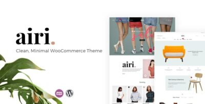 Airi Clean, Minimal WooCommerce Theme