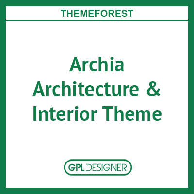 Archia Architecture & Interior WordPress Theme