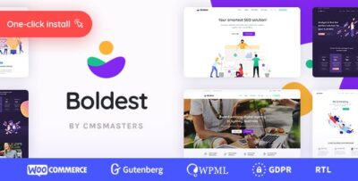 Boldest Consulting And Marketing Agency Theme