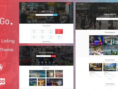 Findgo Directory Listing WordPress Theme