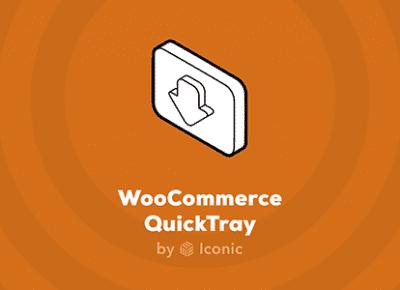 Iconic WooCommerce QuickTray