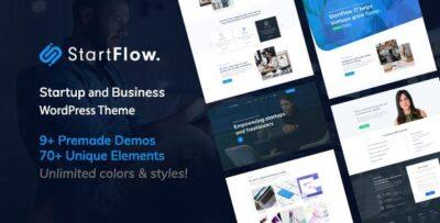 Start Flow Startup And Creative Multipurpose WordPress Theme
