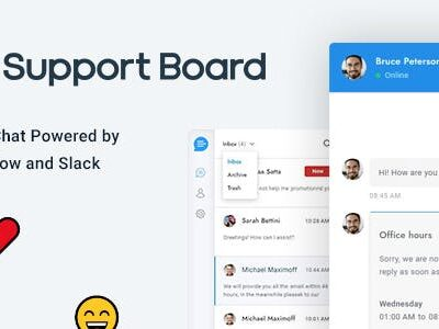 Support Board Chat WordPress Plugin