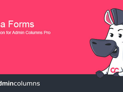Admin Columns Pro Ninja Forms Addon Plugin
