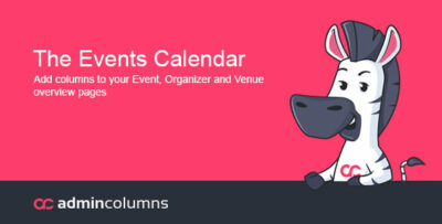Admin Columns Pro The Events Calendar Addon Plugin