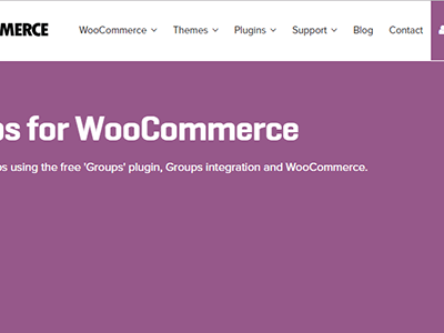 Woocommerce Groups Woocommerce