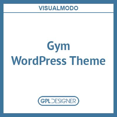 Gym WordPress Theme