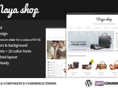 MayaShop A Flexible Responsive E Commerce Theme