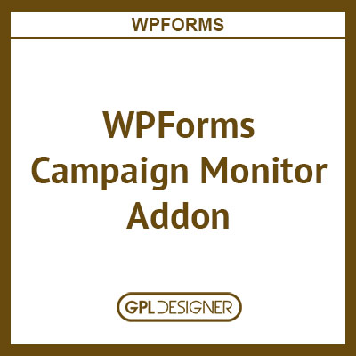WPForms Campaign Monitor Addon
