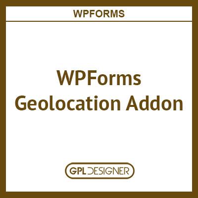 WPForms Geolocation Addon