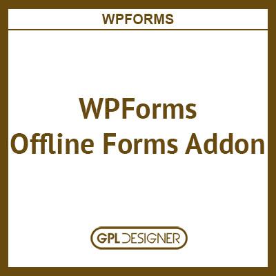 WPForms Offline Forms Addon