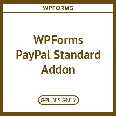 WPForms PayPal Standard Addon
