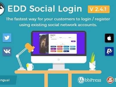 Easy Digital Downloads Social Login