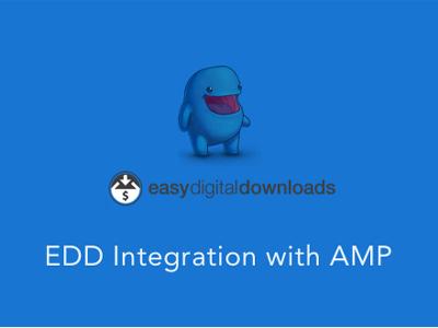 Easy Digital Downloads For AMP