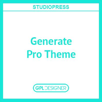 Generate Pro Theme