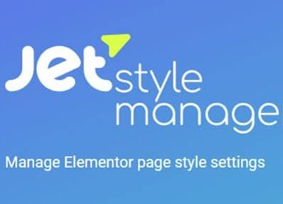JetStyleManager For Elementor