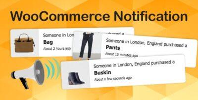 WooCommerce Notification