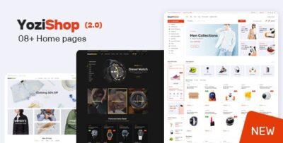 Yozi Multipurpose Electronics WooCommerce WordPress Theme