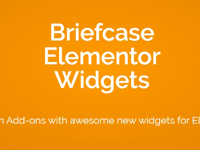 Briefcase Elementor Widgets Plugin