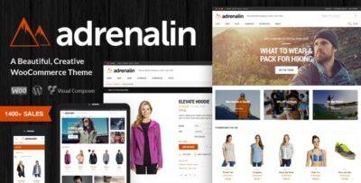 Adrenalin Multi Purpose WooCommerce Theme