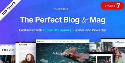 CheerUp Food, Blog & Magazine