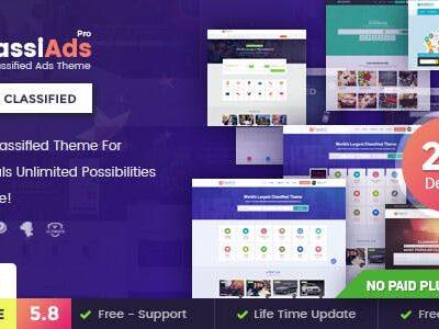 Classiads Classified Ads WordPress Theme