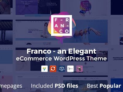 Franco Elegant WooCommerce Theme
