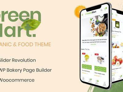 GreenMart Organic WooCommerce Theme