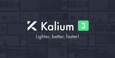 Kalium Creative Theme For Professionals