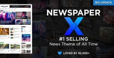 Newspaper Wordpress Blog And Magazine Theme
