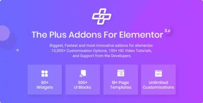 The Plus Addon For Elementor