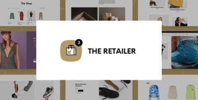 The Retailer ECommerce WordPress Theme For WooCommerce